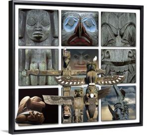 Totems Framed